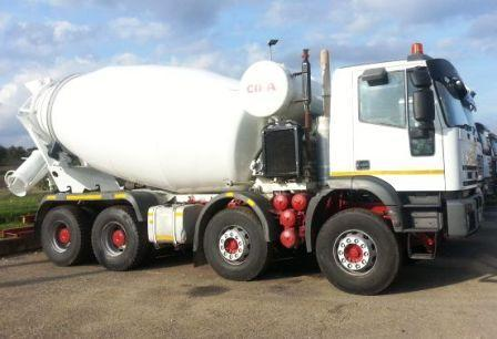 Used Vehicles - TRUCK MIXERS Iveco eurotrakker 410e44